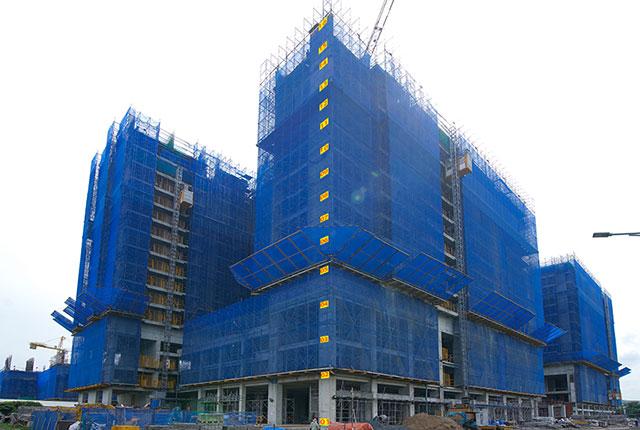 Dự án đất nền Hưng Thịnh, Căn hộ Q7 - Hình ảnh thi công đến ngày 20-06-2020 Q7 Saigon Riverside Complex