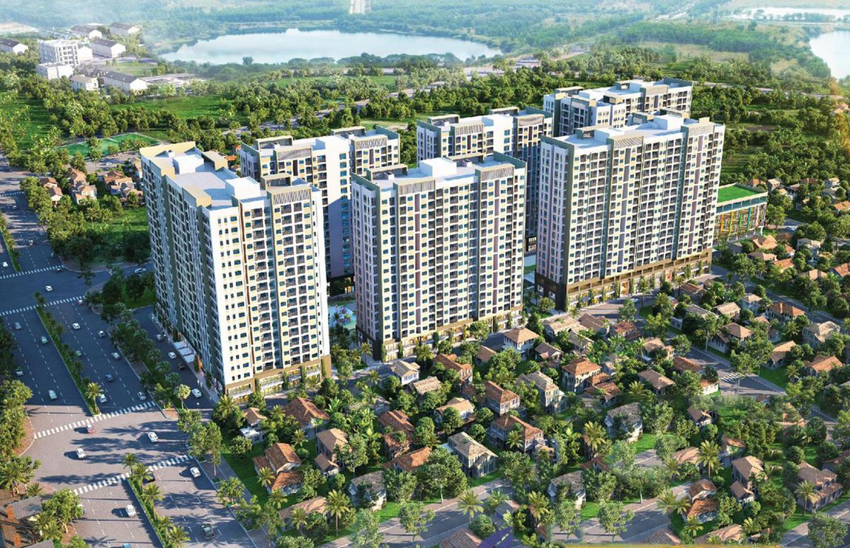 """Dự án đất nền Hưng Thịnh, Căn hộ Q7 - """"Hé lộ"""" 3 dự án quy mô hàng nghìn căn hộ sắp ra mắt tại Dĩ An"""