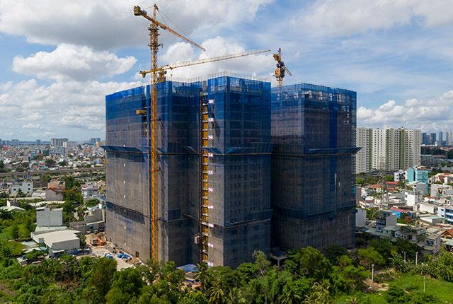 Dự án đất nền Hưng Thịnh, Căn hộ Q7 - Hình ảnh thi công đến tháng 05-2020 CĂN HỘ LAVITA CHARM