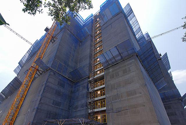 Dự án đất nền Hưng Thịnh, Căn hộ Q7 - Hình ảnh thi công đến tháng 03-2020 dự án Lavita Charm